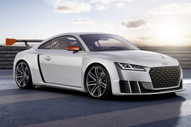 Audi TT Coupé, l'auto sportiva versatile